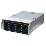 24-bay IP SAN architecture monitoring storage and forwarding management server